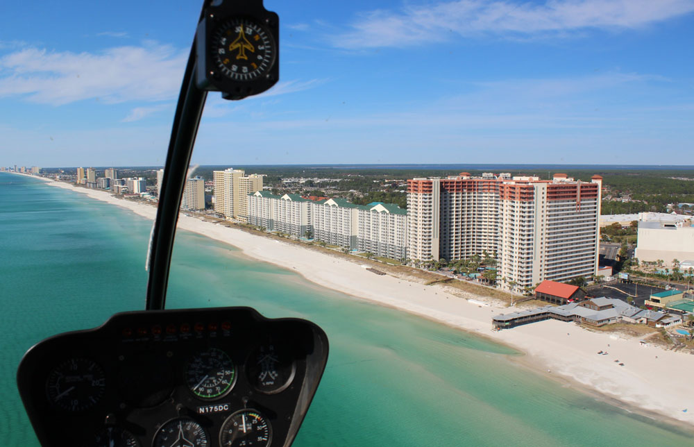 Miracle Strip Panama City Beach Helicopter Tour